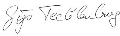 Handtekening Gijs